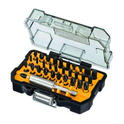 Toptopdeal fr DeWalt 32 Pieces Embouts De Vissage Impact Torsion – DT70523T-QZ