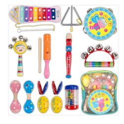 Toptopdeal-fr-Dkinghome-Baby-Musical-Instruments-Wooden-Toddler-Musical-Toy-Set-Educational-Toys-Gifts-with-Shaking-Tapping-Instruments