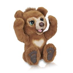 Toptopdeal-fr-FurReal Friends Peluche Interactive Cubby, l'Ours Curieux