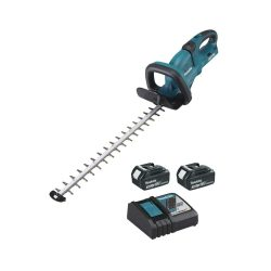 toptopdeal-Makita DUH651RF2 Taille-haie 36V (2x18V) 3 Ah 65 cm (Inclus 2 Batteries + 1 Chargeur DC18RC)