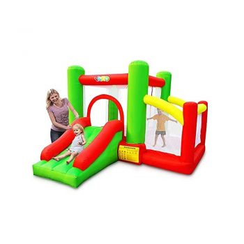 toptopdeal-YARD Bounce House with Ball Pit Slide Blower Kids Indoor Outdoor Inflatable Bouncer Jump Castle