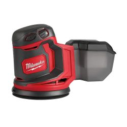 toptopdeal Milwaukee M18BOS125-0 Ponceuse orbitale excentrique
