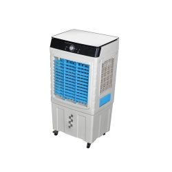 toptopdeal-Daily Accessories Industrial Grade Air Cooler Portable Evaporative Conditioner with 3 Wind Speeds Cooling Fan